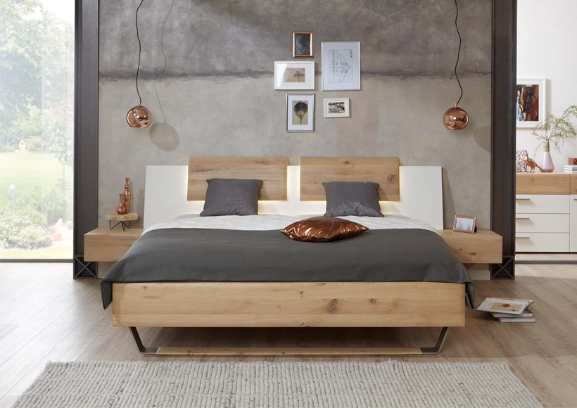 LIVA Massivholzbett Time